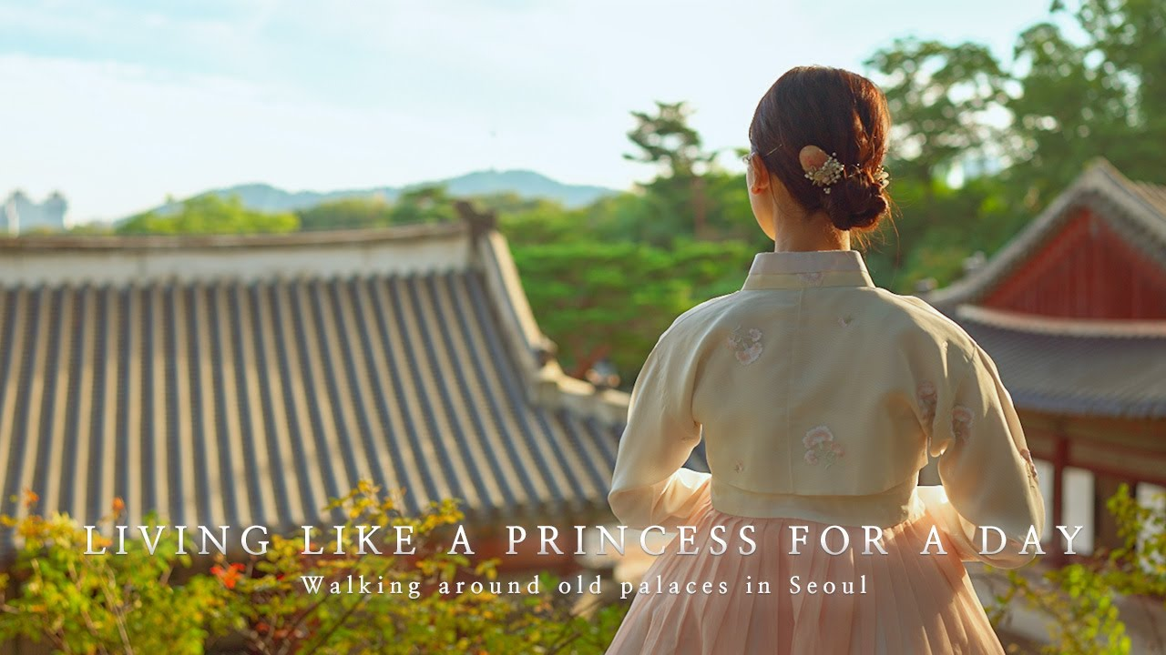 Living like a princess for a day (Walking around old palaces in Seoul) | 공주로 하루 살아보기 (서울 고궁 산책)