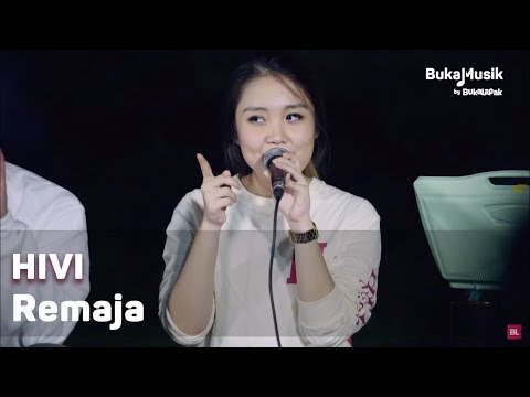 HIVI - Remaja (with Lyrics) | BukaMusik