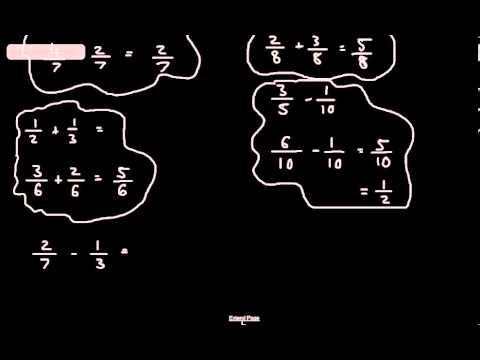 C Grade Level Descriptors   GCSE Maths   Adding Subtracting Multiplying Dividing Fractions