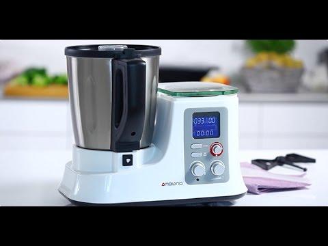 AMBIANO Küchenmaschine mit Kochfunktion: Funktionen und Anwendung ...