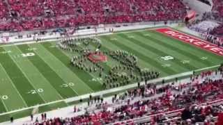 OSUMB half-time show Oct. 20th OSU vs. Purdue