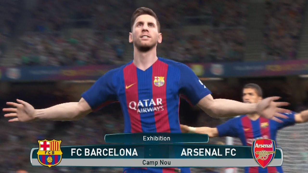 pes 2017 gameplay ps4 hd 1080p60fps youtube