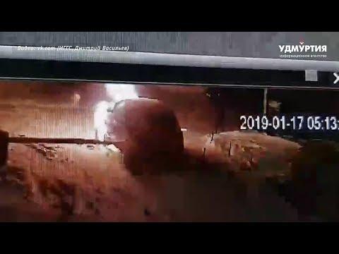 Неизвестные подожгли авто в Ижевске