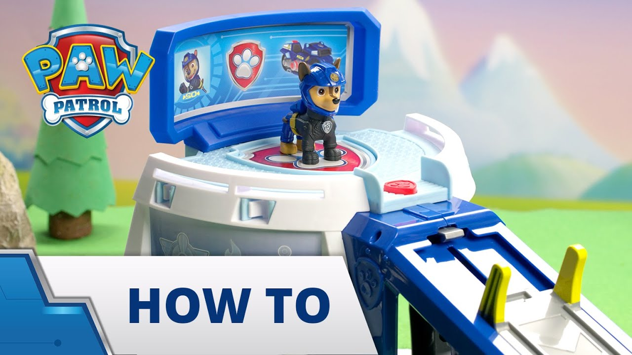 Download PAW Patrol Moto Pups Moto HQ - How To Build & Play - PAW Patrol Official & Friends