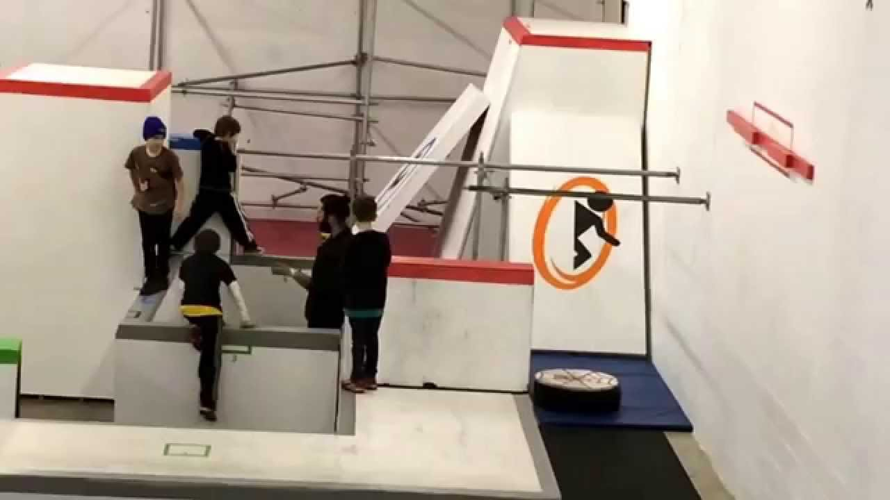 First Parkour Lesson - YouTube
