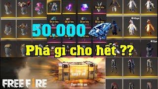 [Free Fire] Làm Sao Để Phá Hết 50.000 Kim Cương, Meow Trở Thành Đại Gia | Meow DGame
