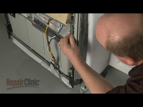 Right Door Hinge - Whirlpool Dishwasher Repair
