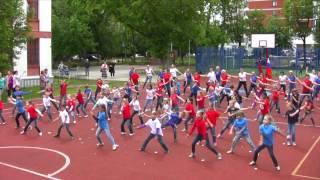 Флешмоб на день России Гимназия №1517 Москва