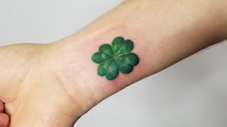 Irish tattoo by CGTV