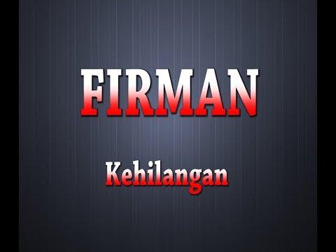 firman---kehilangan-(karaoke-+-lyrics)
