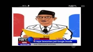 Hari Pendidikan Nasional Indonesia dirayakan oleh Google - NET16