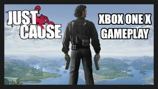 Just Cause Xbox One X Gameplay