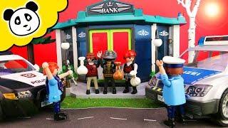 Playmobil Polizei - Einbruch bei der Bank - Playmobil Film