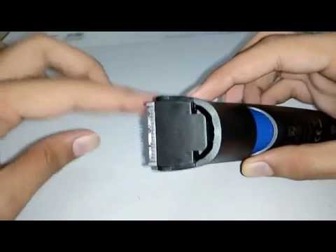 Philips Trimmer Cleaning Tutorial