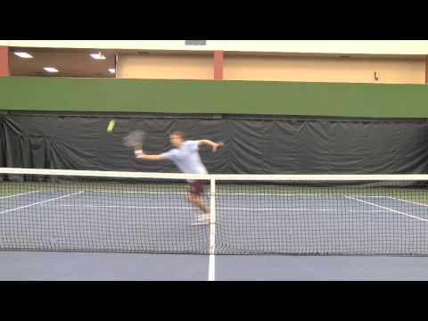 Lawson Barter College Tennis Recruiting Video