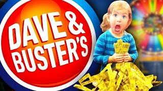 Top 10 Untold Truths of Dave & Buster's!!!