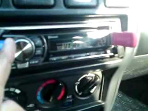 Audio System Radion 165 Test Nissan Almera Youtube