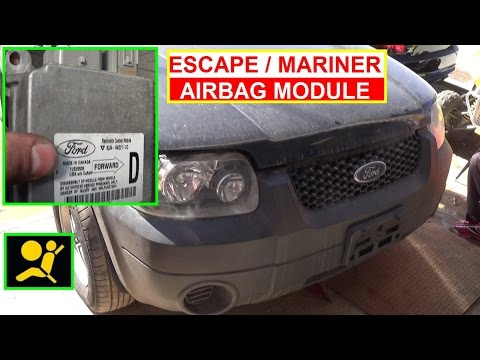 Ford Escape Airbag Module Removal and Replacement How to remove the Air Bag Module