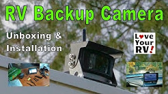 Installing a TadiBrothers Wireless RV Back Up Camera