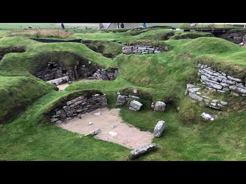 Skara Brae Tour Of The Ancient Town In The Orkney Islands