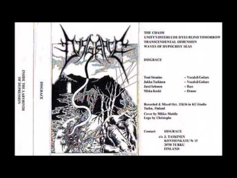 Disgrace   Inside The Labyrinth of Depression Demo