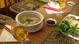 Vietnamese Food-pho Ga-pho Bo-how To Make Pho Ga-vietnamese Chicken Noodle Soup-how To Make Pho