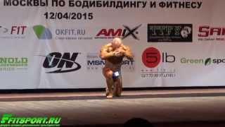 Андрей Попов. Произвольная Программа на Кубке Москвы 2015.
