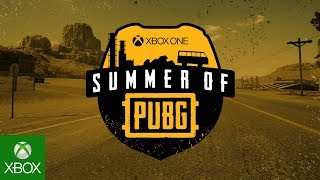 Announcing Xbox One Summer of PUBG