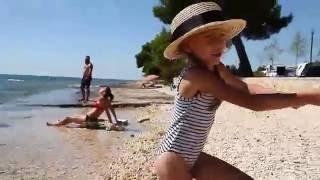 Хорватия - остановка в кемпинге Croatia Camp Pineta на берегу моря