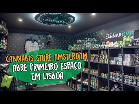 Cannabis Store Amsterdam abre primeiro espaço em Lisboa