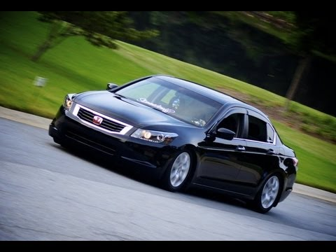 Slammed 2010 Honda Accord Ex L Youtube