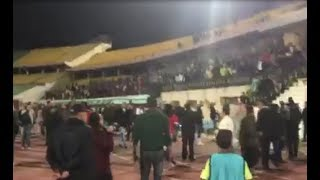 خاص بالفيديو| جماهير الزمالك تُهاجم «جروس» واللاعبين عقب التعادل أمام الجيش