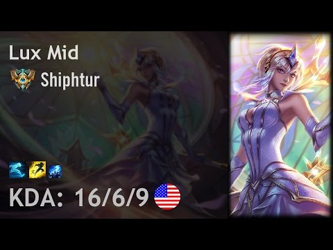 Lux Mid vs Malzahar - Shiphtur - NA Challenger Patch 6.24
