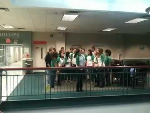 UNCG choir in PH hall