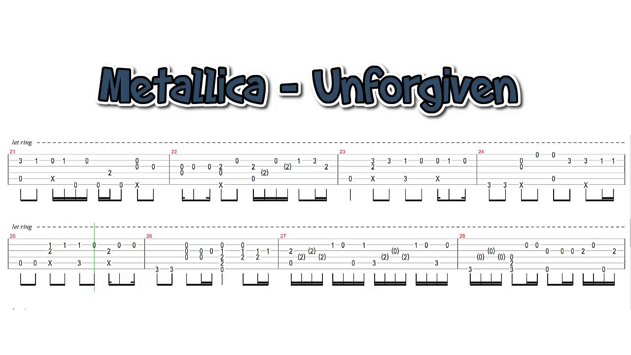 Metallica Unforgiven Fingerstyle Guitar Cover Youtube