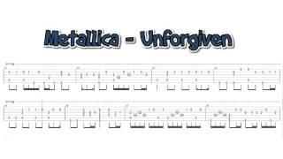 Metallica - Unforgiven (fingerstyle guitar cover)