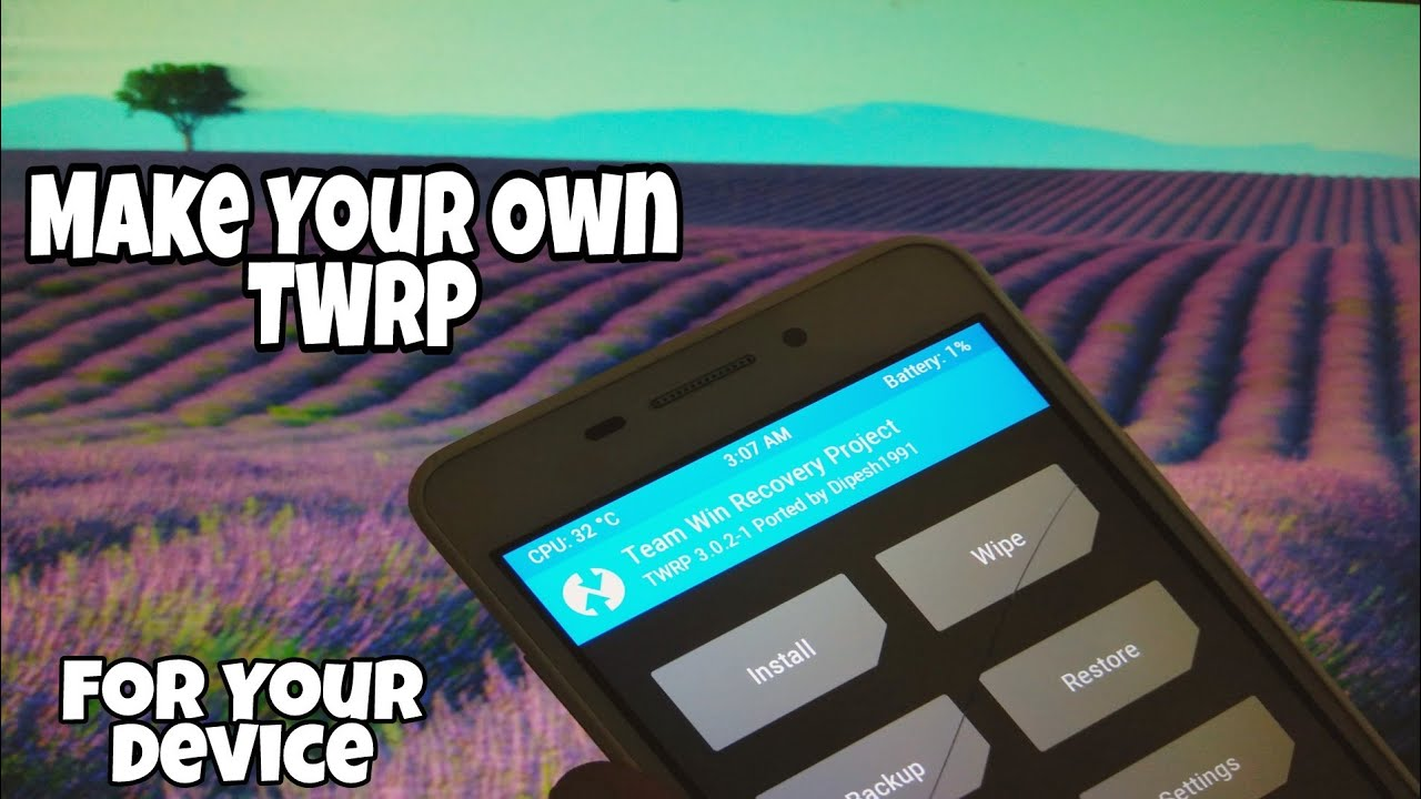 How to make your own TWRP file for your device by Instavid 360