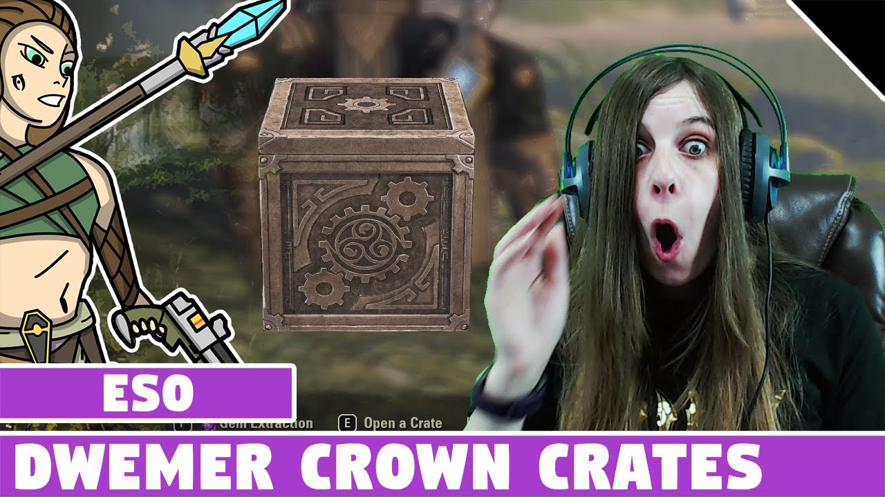 ESO Dwemer Crown Crate Openings! Free Crown Crates from Sub Event!