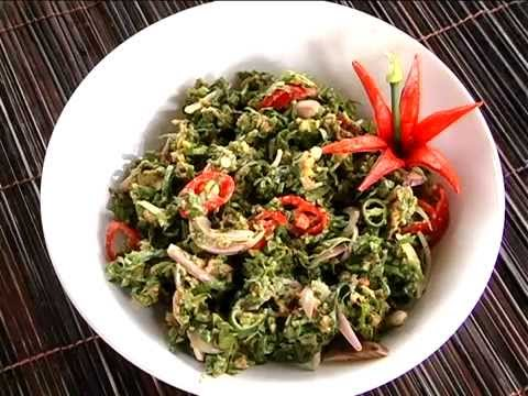 Mukunuwenna salad recipes