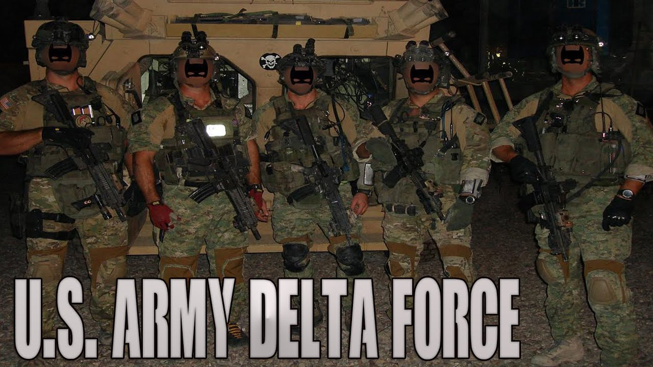 "Delta Force | 1st SFOD-D | CAG  - ""Best of the Best"""