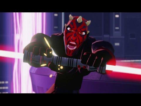 Disney Infinity 3.0 - Twilight of the Republic Playset Finale - Darth Maul Final Boss Fight