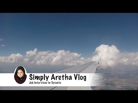 Job Interview in Toronto | Simply Aretha Vlog