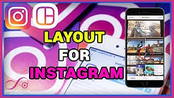 How To Use LAYOUT For Instagram