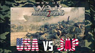 Men of War: Assault Squad 2: GSM XI - Peleliu Beach Assault