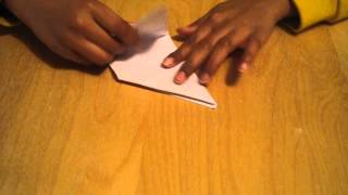 Origami Instructions: How to make a duck mouth/beak