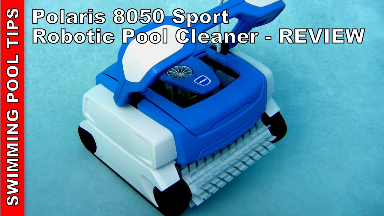 Polaris 8050 Robotic Pool Cleaner Review Youtube