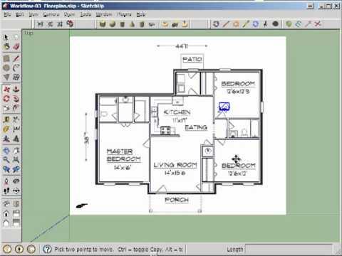 ET365 2D Door Cut into Floorplan Walls  YouTube