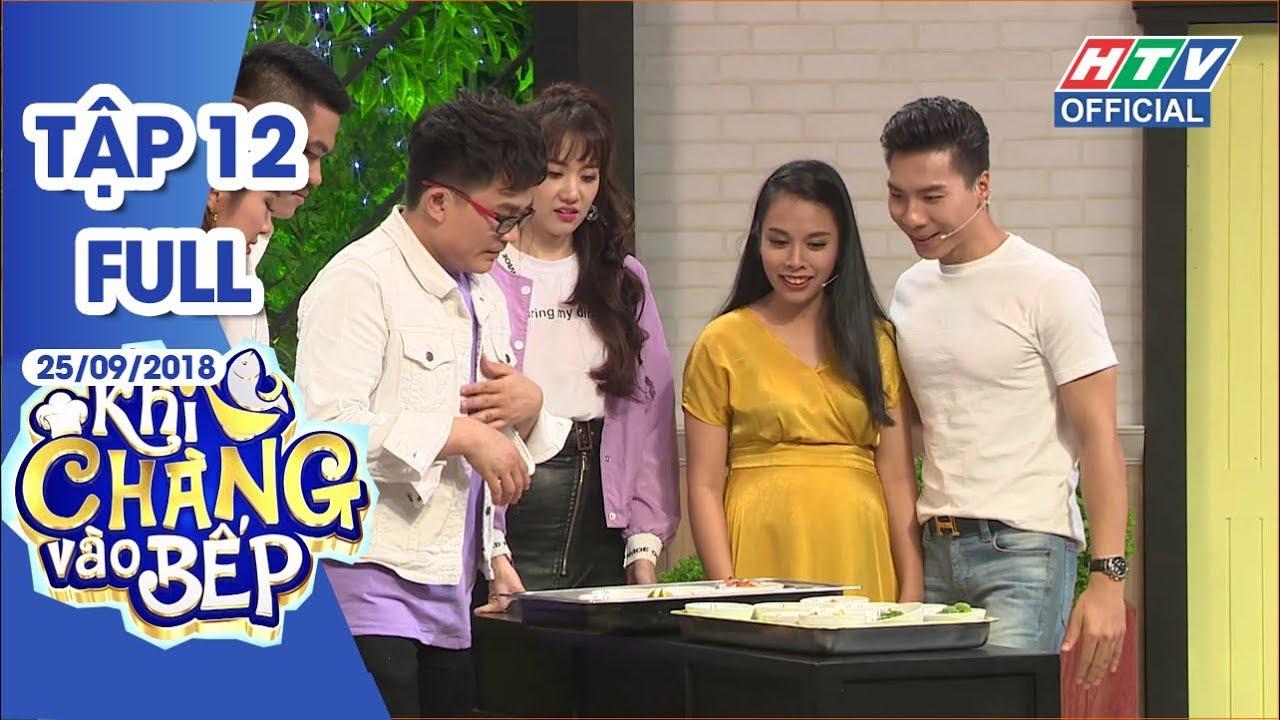 image HTV KHI CHÀNG VÀO BẾP Lê Phương hạnh phúc khoe được chồng nuôi tốt   KCVB #12 FULL   25/9/2018