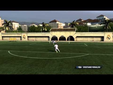 FIFA 12 обучение не хитрым ударам) ( крученный ,