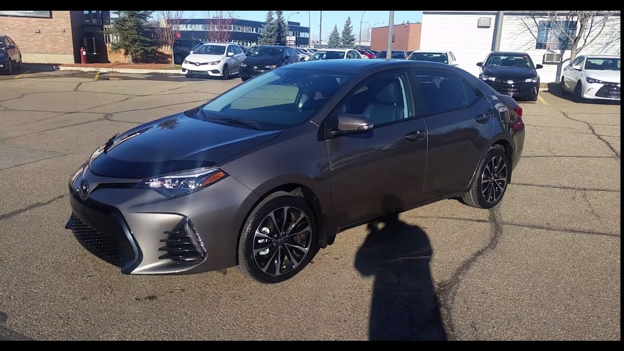 2017 Toyota Corolla Xse In Falcon Gray Metallic 01g2 Detailed Review Walk Around Features Safety Sen You